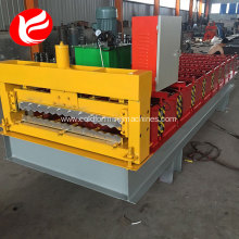 Corrugated roof sheet metal roll forming machines